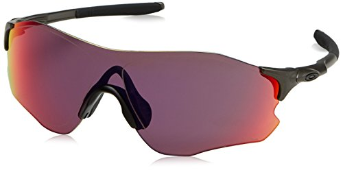 Oakley Men's Evzero Path Non-Polarized Iridium Rectangular Sunglasses, LEAD, 38 ()
