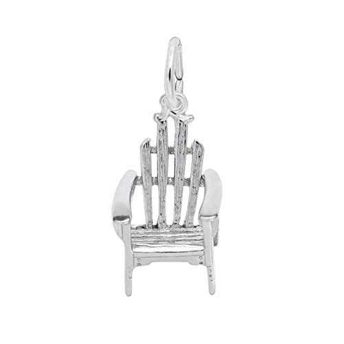 Sterling Silver Adirondack Chair Charm Chair Sterling Silver Charm