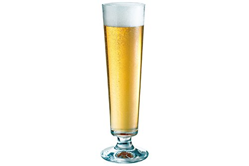 Dortmund Beer Glasses 13oz / 370ml - Pack of 6   37cl Glasses, Kriek Glass, Lambic Glass, Pilsner Beer Glasses - Kriek Beer