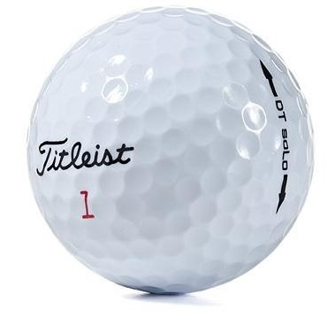 100 Titleist DT Solo - Mint (AAAAA) Grade - Recycled (Used) Golf Balls