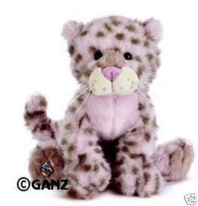 Webkinz Exclusive Plush Stuffed Animal Strawberry Cloud (Ganz Webkinz Leopard)