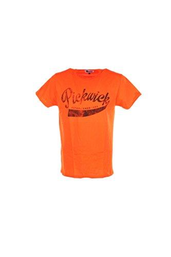 T-shirt Uomo Pickwick 2XL Arancione Pbrianm366 Primavera Estate 2017
