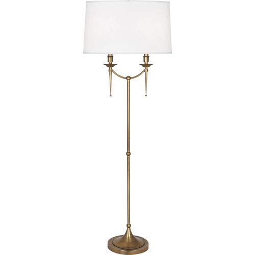 - Mill & Mason Oxford Brass Two-Light Floor Lamp