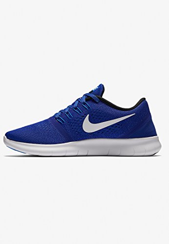Nike Mujeres Free Rn Concord Blanco Hyper Cobalt 400