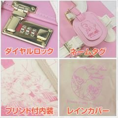 The Rose of Versailles trunk type carry case if leather carry-on size New Japan