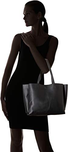 H Shopchic x L cm Scw18 Negro Mujer W Noir Carteras 30x45x12 de mano Pimkie ZHAWx7qWa
