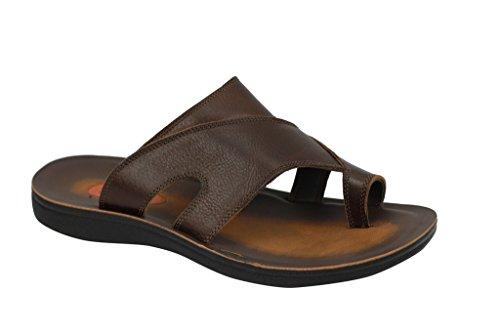 Caff Xposed abbigliamento Sandali di Marrone cuoio di uomo per rBr8qwR