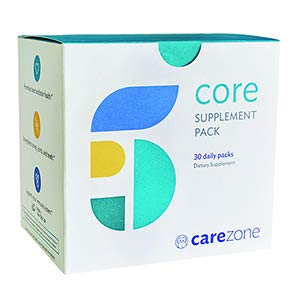 Daily Vitamin Packs - CareZone Core Supplement Daily Vitamin Packs - Support for Optimal Health and Nutrition, 30 Count