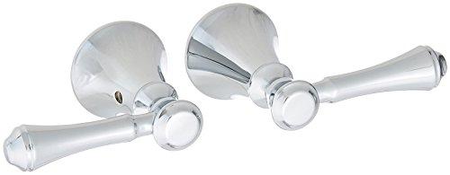 Delta Faucet H297 Cassidy Two Lever Bath Faucet/Bidet Handle Kit, Chrome