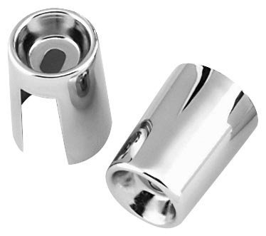 Bikers Choice Shock Stud Covers for Harley XL FL FX (Bikers Choice Shock)