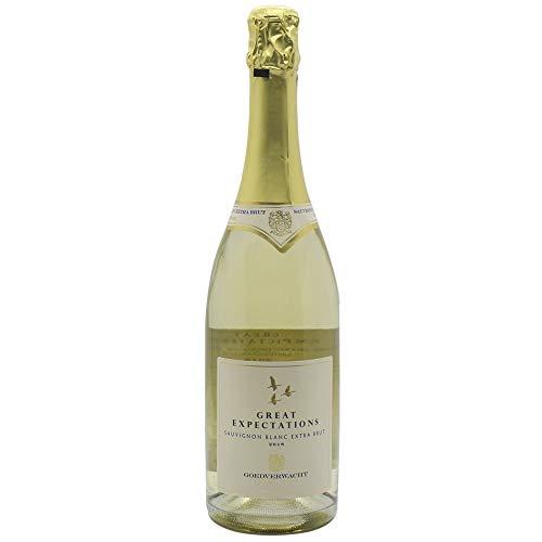 Vinho Espumante Extra Bruto, Great Expectations, Sauvignon Blanc, Amarelo Claro, 750 ml