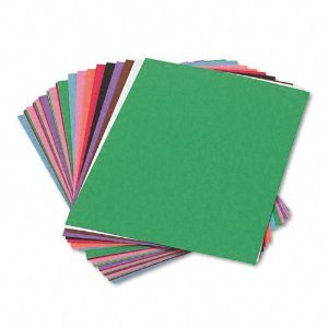 9x12 Sunworks Construction Paper - SunWorks 6503 Construction Paper, 58 lbs, 9 x 12, Assorted, 50 Sheets/Pack