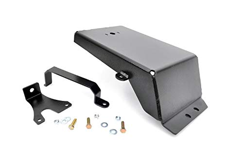 Rough Country - 777 - Evap Canister Skid Plate for Jeep: 07-18 Wrangler JK 4WD, 07-18 Wrangler Unlimited JK 4WD/2WD