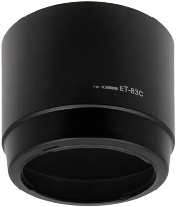 Fotodiox Lens Hood Replacement for ET-83C Compatible with Canon EF 100-400mm f//4.5-5.6L is Lens