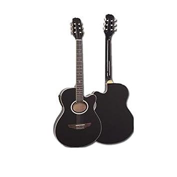 Guitarra Electroclásica Super Flat Memphis Negra A95Ncetb: Amazon.es: Salud y cuidado personal