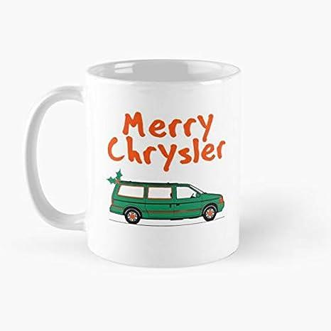 Amazon Com Merry Christmas Chrysler Mugs Coffee Cups Mugs
