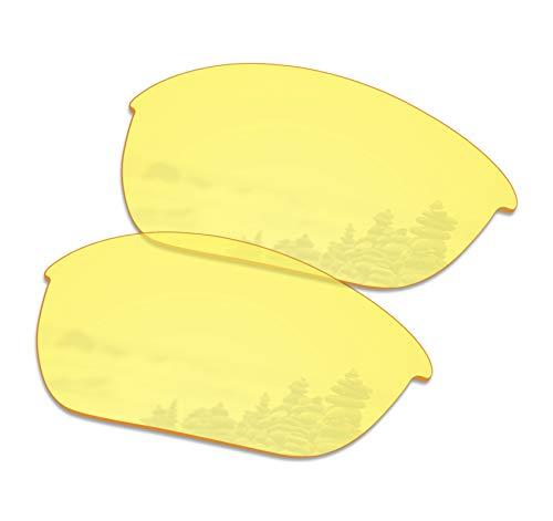 - SmartVLT Men's HD Yellow Replacement Lenses for Oakley Half Jacket 2.0 OO9144 Sunglass