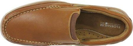 Florsheim Hombres Lakeside Slip Boat Shoe Saddle Cuero Curtido