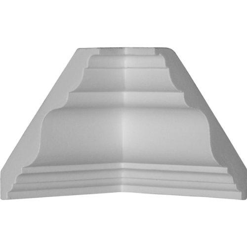 (Ekena Millwork MIC03X03DU  3 7/8-Inch P x 3 7/8-Inch H Inside Corner for Molding MLD03X03X05DU)