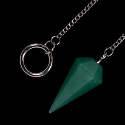 Green Aventurine Crystal Pendulum