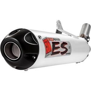 Big Gun Ecoシステムスリップオン排気 – ブラック B004L4VDHU