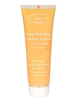 Clarins One-Step Gentle Exfoliating Cleanser with Orange Extract 4.3 oz 125 ml