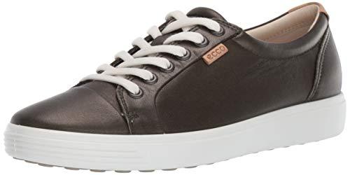 ECCO Women's Soft 7 Sneaker, deep Forest Metallic, 40 M EU (9-9.5 US)
