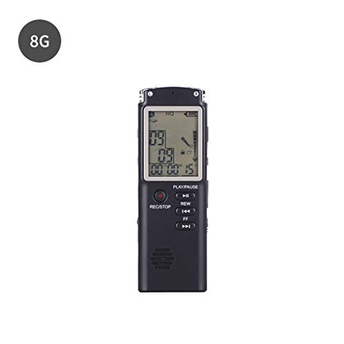 GUINV 8GB 16GB 32GB Rechargeable USB Digital Audio Sound Voice Recorder Pen Dictaphone MP3 Player with VAR VOR Microphone Earphone
