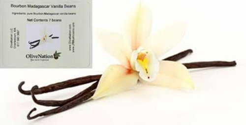 OliveNation Gourmet Madagascar Vanilla Beans, 0.35 Ounce
