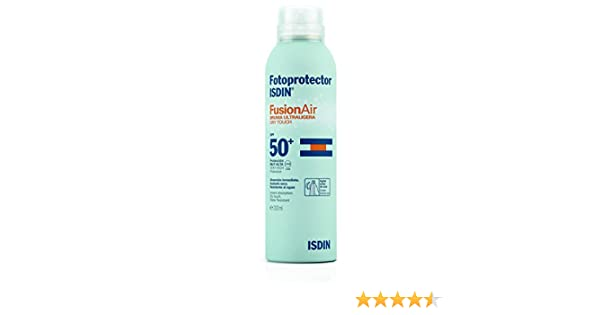 ISDIN Fusion Air Bruma Ultraligera (SPF 50+) - 200 ml.: Amazon.es