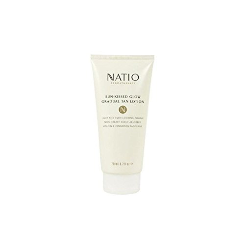 Natio Sun-Kissed Glow Gradual Tan Lotion (200ml) (Pack of 2) by Natio