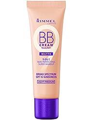 Rimmel Match Perfection BB Cream Foundation Matte, Light Medium, 1 Fluid Ounce