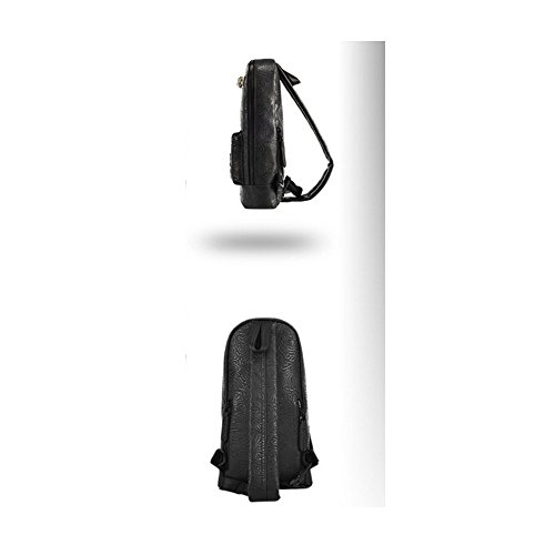 Riding China Text B A Outdoor Bag Chest Bag Wind Shoulder Bag Bag Sport Retro Embroidery WnXTnr