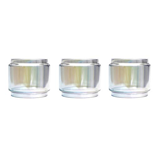 (CENGLORY 3PCS Replacement Bulb Glass Tube 8ml Capacity for TFV12 Prince (Colorful))