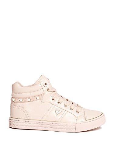 Gissa Fabrik Kvinna Joannes Hög-top Sneakers Rosa