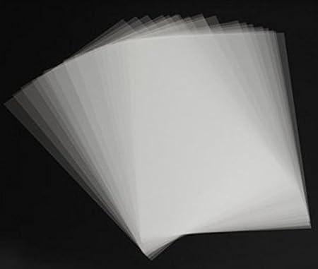 10 Stücke A4 Inkjet Laserdruck Transparent Film Fotopapier PCB SchablonRSDES WS