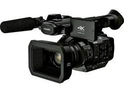 Panasonic AG-UX180 4K Professional Camcorder Video Cameras at amazon