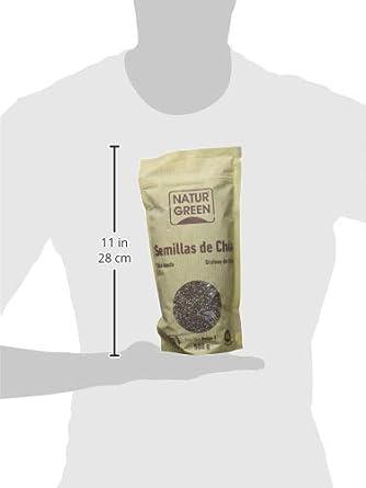 NaturGreen Semillas de Chía - Pack de 3 unidades de 500 gr: Amazon.es: Alimentación y bebidas