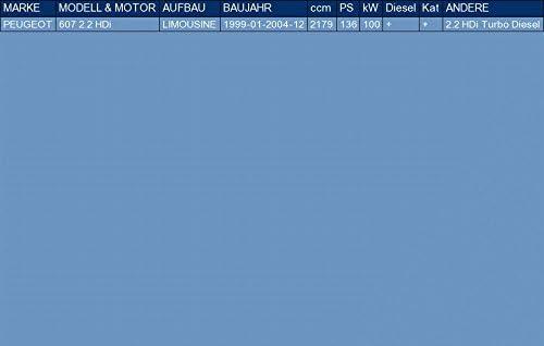 el kit de montaje completo pour 607 2.2 HDi SED/ÁN 136hp 1999-2004 ETS-EXHAUST 51471 Silencioso Trasero