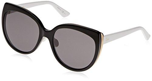 Christian Dior Diorific 1/N/S Sunglasses Black Gold White / - Sunglasses And Dior Gold White