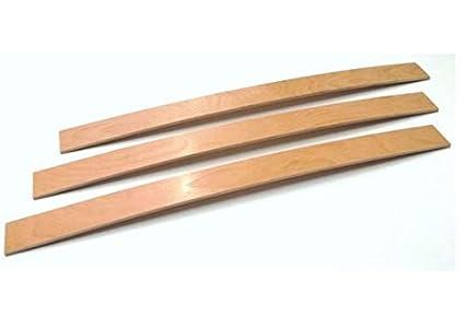 Doghe doga per ricambio reti da letto misura singola 79x6.4x0.8 cm