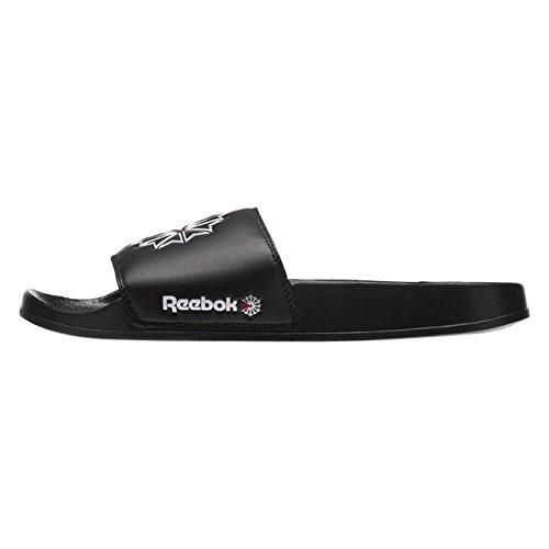 Reebok Classic Slide, Zapatos de Playa y Piscina Unisex Niño, Negro (SC/Black/White/Excellent Red 000), 37.5 EU