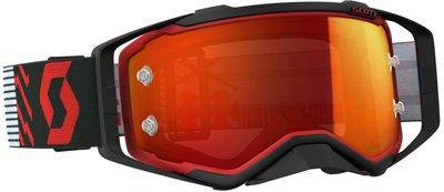 GOGGLE PROSPECT RED/BLK ORANGE CHROME WORKS REDBLK Orange Chrome (Orange Chrome Lens)