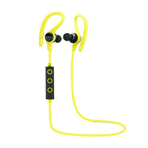 WONOUS Candy Color Wireless Ear Hook Sports Stereo Sweatproof Waterproof V4.1 Bluetooth...