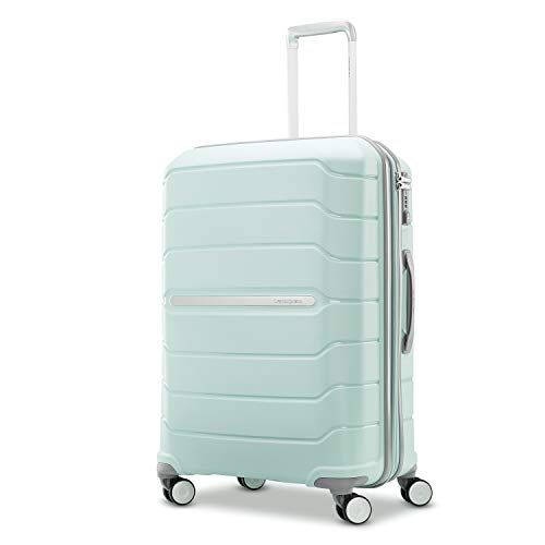 Samsonite Freeform Hardside Expandable with Double Spinner Wheels, Mint Green, Carry-On 21-Inch