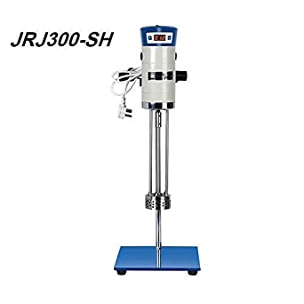 HuXi Laboratory High Speed Dispersing Homogenizer Emulsifier Capacity 40L 200-11000r/min 510W Digital Display Blender for Cosmetics?110v & 220v??