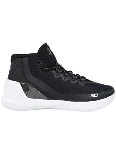 Under Armour Ua Curry 3 Hombre Hi Top Baloncesto Zapatillas 1269279 Zapatillas Negro/blanco 006