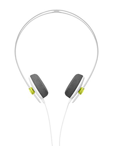 AIAIA Tracks Headphones w/ one button mic in White