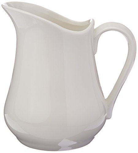 White Milk Jug - Maxwell and Williams Basics Jug, 34-Ounce, White