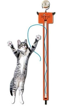 Fling-Ama-String Interactive Cat Toy--